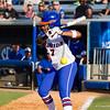 Kelsey Stewart at bat on May 17, 2013 against Hampton.