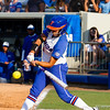Stephanie Tofft at bat against Hampton on May 17, 2013.