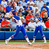Taylor Schwarz at bat during the Florida vs Hampton game on May 17, 2013.