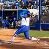 Lauren Haeger at bat against Hampton on May 17, 2013.