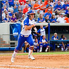Kirsti Merritt, headed for first during the Florida vs Hampton game on May 17, 2013.