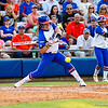 Bailey Castro at bat during the Florida vs Hampton game on May 17, 2013.