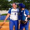 Alyssa Bache and teammate.