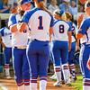 Florida takes the field against Hampton on May 17, 2013.