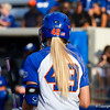 Taylor Schwarz on deck at the Florida vs Hampton game on May 17, 2013.