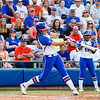 Kelsey Horton at bat during the Florida vs Hampton game on May 17, 2013.