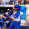 Stephanie Tofft at bat in the Florida vs Hampton game on May 17, 2013.