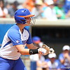 Taylore Fuller at bat during Florida's 5-6 loss to Mississippi State on Sunday, April 8th 2013 at the Katie Seashole Pressly Softball Stadium in Gainesville, Florida.