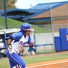 Kelsey Stewart runs to first during Florida's 5-6 loss to Mississippi State on Sunday, April 8th 2013 at the Katie Seashole Pressly Softball Stadium in Gainesville, Florida.
