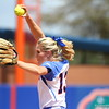 Hannah Rogers during Florida's 5-6 loss to Mississippi State on Sunday, April 8th 2013 at the Katie Seashole Pressly Softball Stadium in Gainesville, Florida.