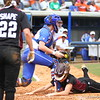 Taylore Fuller during Florida's 5-6 loss to Mississippi State on Sunday, April 8th 2013 at the Katie Seashole Pressly Softball Stadium in Gainesville, Florida.