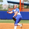 Alyssa Bache during Florida's 5-6 loss to Mississippi State on Sunday, April 8th 2013 at the Katie Seashole Pressly Softball Stadium in Gainesville, Florida.