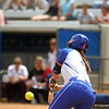 Jessica Damico at bat during Florida's 5-6 loss to Mississippi State on Sunday, April 8th 2013 at the Katie Seashole Pressly Softball Stadium in Gainesville, Florida.