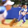Jessica Damico during Florida's 5-6 loss to Mississippi State on Sunday, April 8th 2013 at the Katie Seashole Pressly Softball Stadium in Gainesville, Florida.