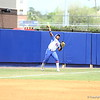 Briana Little throws to second base during Florida's 5-6 loss to Mississippi State on Sunday, April 8th 2013 at the Katie Seashole Pressly Softball Stadium in Gainesville, Florida.