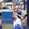 Kelsey Horton at bat during Florida's 5-6 loss to Mississippi State on Sunday, April 8th 2013 at the Katie Seashole Pressly Softball Stadium in Gainesville, Florida.