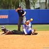 Kathlyn Medina makes a play during Florida's 5-6 loss to Mississippi State on Sunday, April 8th 2013 at the Katie Seashole Pressly Softball Stadium in Gainesville, Florida.