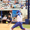 Bailey Castro at bat during Florida's 5-6 loss to Mississippi State on Sunday, April 8th 2013 at the Katie Seashole Pressly Softball Stadium in Gainesville, Florida.