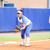 Stephanie Tofft gets ready to field during Florida's 5-6 loss to Mississippi State on Sunday, April 8th 2013 at the Katie Seashole Pressly Softball Stadium in Gainesville, Florida.