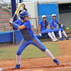 Freshman Kristi Merritt at bat during the Gators' scrimmage on Tuesday, February 5, 2013 at Katie Seashole Pressly Stadium in Gainesville, Fla.