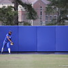Briana Little throwing the ball back to the infield during the Gators' scrimmage on Tuesday, February 5, 2013 at Katie Seashole Pressly Stadium in Gainesville, Fla.