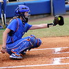 Freshman Aubree Munro catching the ball during the Gators' scrimmage on Tuesday, February 5, 2013 at Katie Seashole Pressly Stadium in Gainesville, Fla.