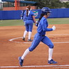 Senior Ensley Gammel during the Gators' scrimmage on Tuesday, February 5, 2013 at Katie Seashole Pressly Stadium in Gainesville, Fla.