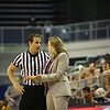 Coach Amanda Butler looks for an explanation during the Florida Gators 75-78 overtime loss to Tennessee on Sunday, Jan. 13, 2012, at the Stephen C. O'Connell Center in Gainesville, Fla. / Gator Country photo by Curtiss Bryant