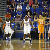January Miller during the Florida Gators 75-78 overtime loss to Tennessee on Sunday, Jan. 13, 2012, at the Stephen C. O'Connell Center in Gainesville, Fla. / Gator Country photo by Curtiss Bryant