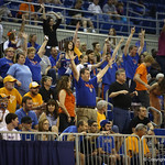Fans during the Florida Gators 75-78 overtime loss to Tennessee on Sunday, Jan. 13, 2012, at the Stephen C. O'Connell Center in Gainesville, Fla. / Gator Country photo by Curtiss Bryant