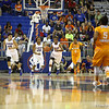 Kayla Lewis during the Florida Gators 75-78 overtime loss to Tennessee on Sunday, Jan. 13, 2012, at the Stephen C. O'Connell Center in Gainesville, Fla. / Gator Country photo by Curtiss Bryant