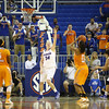 Vicky McIntyre during the Florida Gators 75-78 overtime loss to Tennessee on Sunday, Jan. 13, 2012, at the Stephen C. O'Connell Center in Gainesville, Fla. / Gator Country photo by Curtiss Bryant
