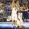 Carlie Needles during the Florida Gators 75-78 overtime loss to Tennessee on Sunday, Jan. 13, 2012, at the Stephen C. O'Connell Center in Gainesville, Fla. / Gator Country photo by Curtiss Bryant