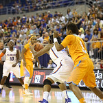 Jennifer George during the Florida Gators 75-78 overtime loss to Tennessee on Sunday, Jan. 13, 2012, at the Stephen C. O'Connell Center in Gainesville, Fla. / Gator Country photo by Curtiss Bryant during the Florida Gators 75-78 overtime loss to Tennessee on Sunday, Jan. 13, 2012, at the Stephen C. O'Connell Center in Gainesville, Fla. / Gator Country photo by Curtiss Bryant