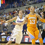 Lily Svete during the Florida Gators 75-78 overtime loss to Tennessee on Sunday, Jan. 13, 2012, at the Stephen C. O'Connell Center in Gainesville, Fla. / Gator Country photo by Curtiss Bryant during the Florida Gators 75-78 overtime loss to Tennessee on Sunday, Jan. 13, 2012, at the Stephen C. O'Connell Center in Gainesville, Fla. / Gator Country photo by Curtiss Bryant