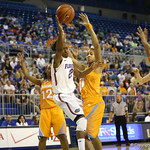 Kayla Lewis during the Florida Gators 75-78 overtime loss to Tennessee on Sunday, Jan. 13, 2012, at the Stephen C. O'Connell Center in Gainesville, Fla. / Gator Country photo by Curtiss Bryant during the Florida Gators 75-78 overtime loss to Tennessee on Sunday, Jan. 13, 2012, at the Stephen C. O'Connell Center in Gainesville, Fla. / Gator Country photo by Curtiss Bryant