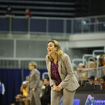 Cocach Amanda Butler during the Florida Gators 75-78 overtime loss to Tennessee on Sunday, Jan. 13, 2012, at the Stephen C. O'Connell Center in Gainesville, Fla. / Gator Country photo by Curtiss Bryant during the Florida Gators 75-78 overtime loss to Tennessee on Sunday, Jan. 13, 2012, at the Stephen C. O'Connell Center in Gainesville, Fla. / Gator Country photo by Curtiss Bryant