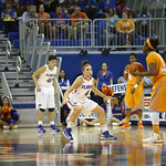 during the Florida Gators 75-78 overtime loss to Tennessee on Sunday, Jan. 13, 2012, at the Stephen C. O'Connell Center in Gainesville, Fla. / Gator Country photo by Curtiss Bryant