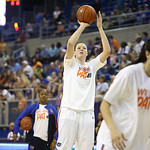 Vicky McIntrye during the Florida Gators 75-78 overtime loss to Tennessee on Sunday, Jan. 13, 2012, at the Stephen C. O'Connell Center in Gainesville, Fla. / Gator Country photo by Curtiss Bryant