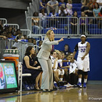 Coach Amanda Butler during the Florida Gators 75-78 overtime loss to Tennessee on Sunday, Jan. 13, 2012, at the Stephen C. O'Connell Center in Gainesville, Fla. / Gator Country photo by Curtiss Bryant during the Florida Gators 75-78 overtime loss to Tennessee on Sunday, Jan. 13, 2012, at the Stephen C. O'Connell Center in Gainesville, Fla. / Gator Country photo by Curtiss Bryant