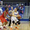 Carlie Needles during Florida's 57-62 loss to Georgia on February 17, 2013 at the Stephen C O'Connell Center in Gainesville, Florida. Pictures taken by Curtiss Bryant for Gatorcountry.com
