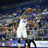 Christin Mercer during Florida's 57-62 loss to Georgia on February 17, 2013 at the Stephen C O'Connell Center in Gainesville, Florida. Pictures taken by Curtiss Bryant for Gatorcountry.com