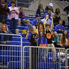 Fans during Florida's 69-58 win over Arkansas on February 28, 2013 at the Stephen C O'Connell Center in Gainesville, Florida.