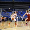 Lily Svete during Florida's 69-58 win over Arkansas on February 28, 2013 at the Stephen C O'Connell Center in Gainesville, Florida.