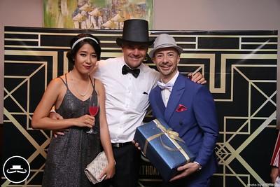 Gatsby Birthday Party @ Blanchy Tash Lounge - instant print photobooth in Saigon - Chụp ảnh lấy liền Tiệc Sinh Nhật - Photobooth Saigon