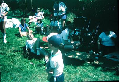 Gaudet Family Reunion 1986