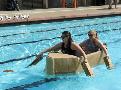 Gavilan College Physics - Cardboard Boats 2007