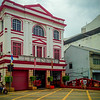 Main Fire Station in Georgetown, Penang