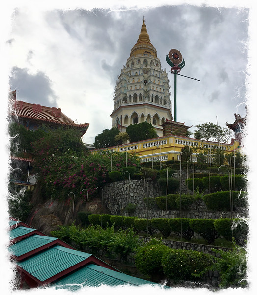 Kek Lok Si - a large goddess of mercy temple in Penang