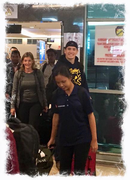Arrival in Penang